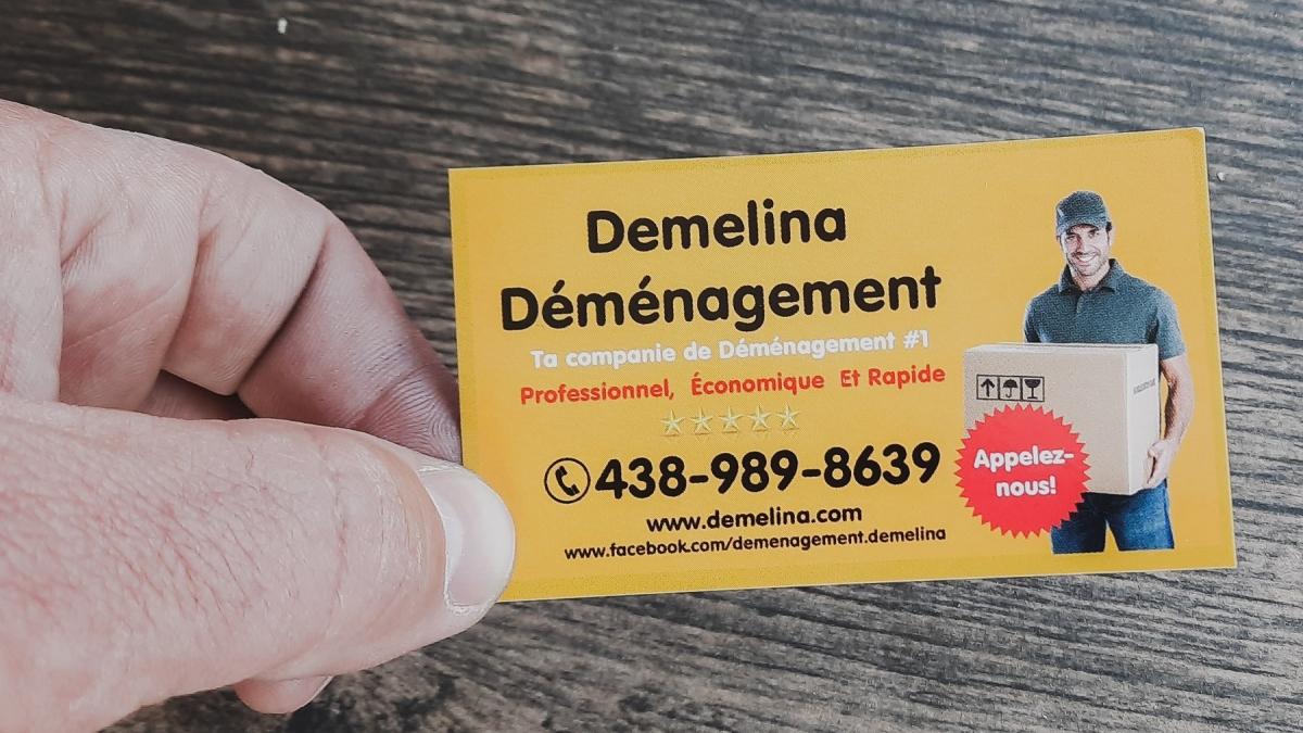 Demelina déménagement